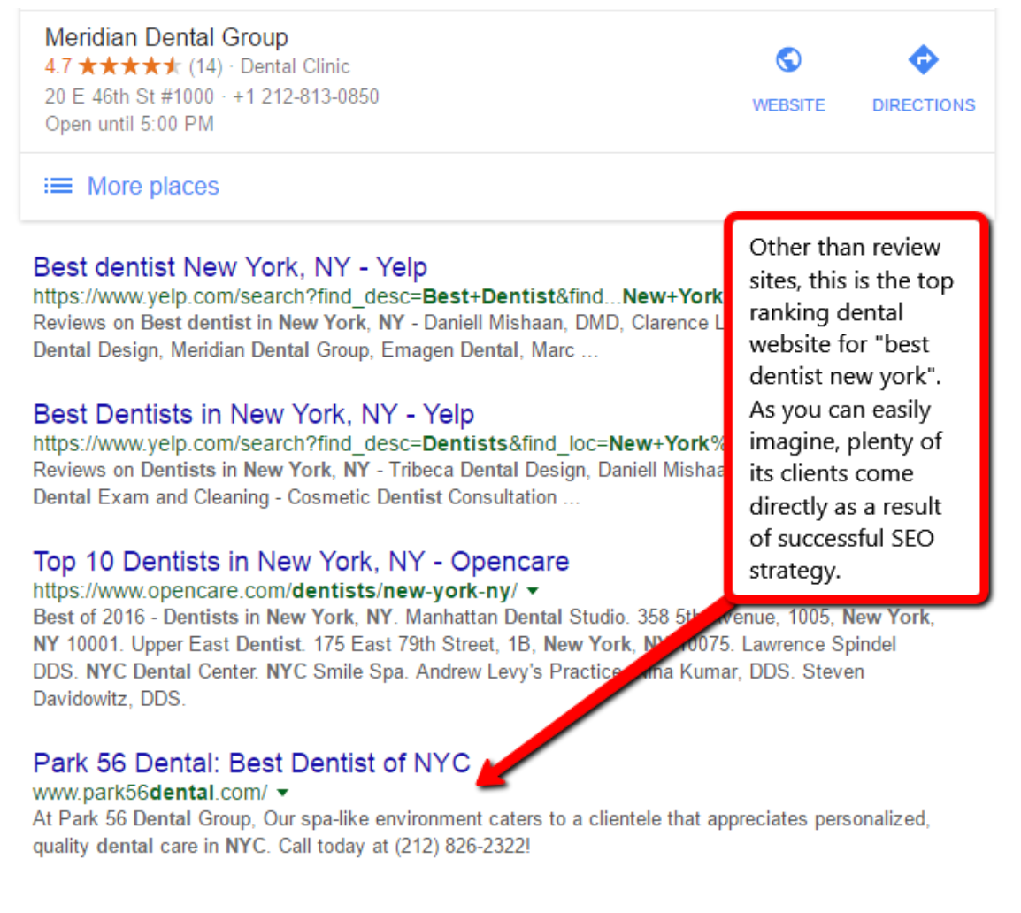 Dental SEO Marketing For Dentists